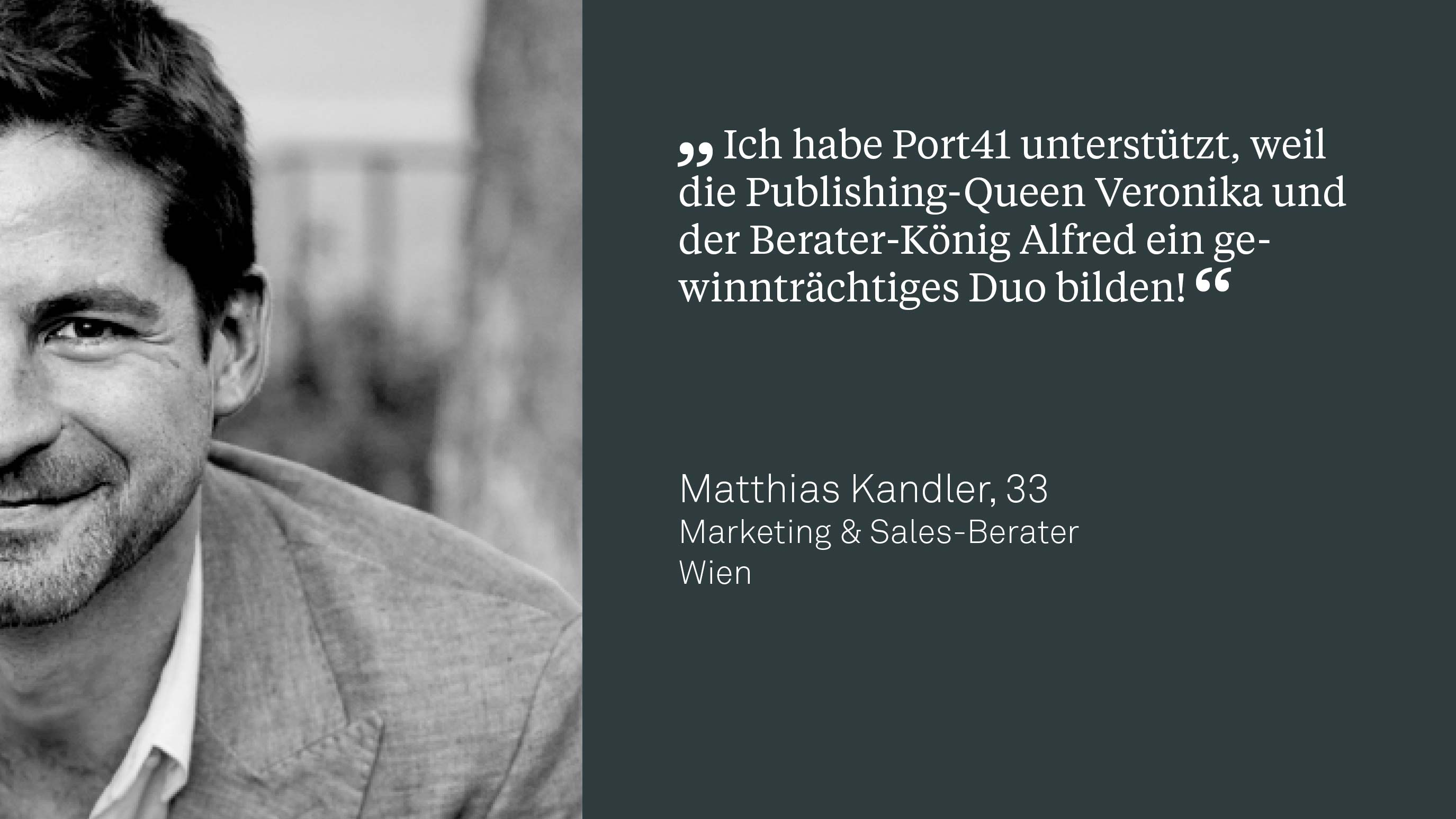 Matthias Kandler, BA, Marketing & Sales-Berater
